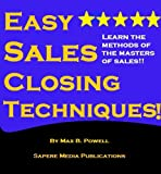 Easy Sales Closing Techniques