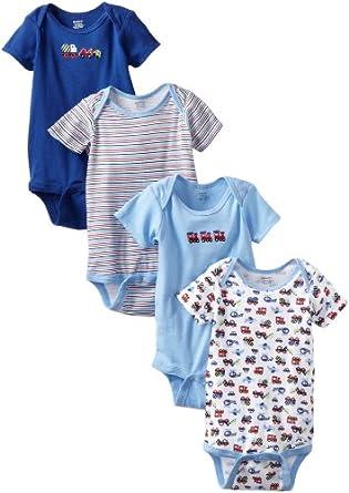 (历史最低)Gerber Baby-Boys婴儿五件套 Variety Onesies Brand With Trains $6.39