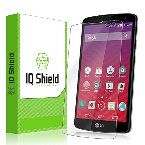 Iq Shield Liquidskin - Lg Tribute Screen Protector With Lifetime Replacement Warranty - High Definition (Hd) Ultra Clear Smart Film - Premium Protective Screen Guard - Extremely Smooth / Self-Healing / Bubble-Free Shield - Kit Comes In Frustration-Free Re