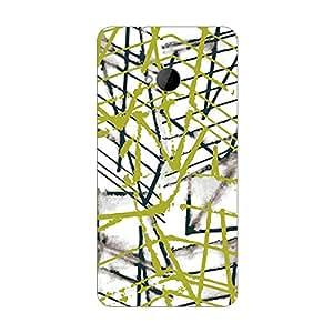Garmor Designer Plastic Back Cover For HTC One
