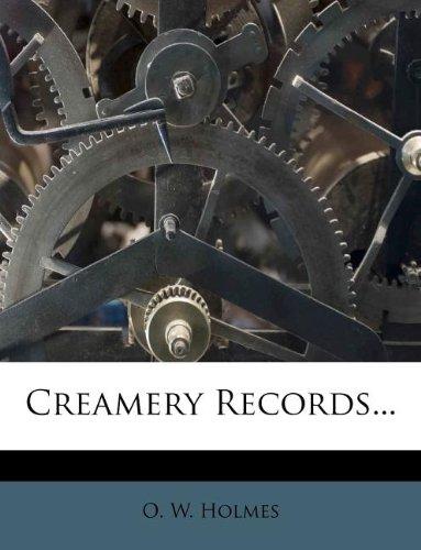 Creamery Records...