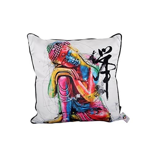1-Wall-Patrice-Murciano-Buddha-Lizenzprodukt-Luxus-Feder-Kissen-gefllt-Stoff-Mehrfarbig-55-cm