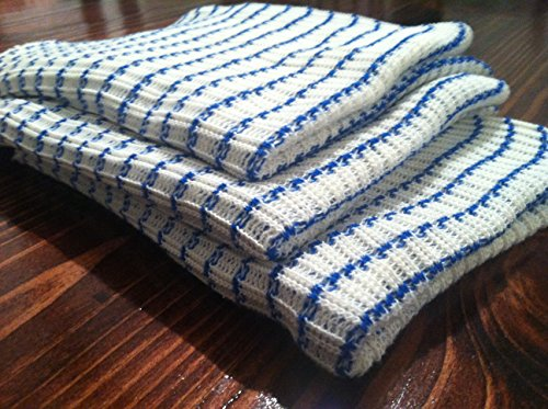 World's Best Dish Cloth - Set of 6 - BLUE (Dish Towels Made In Usa compare prices)