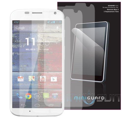 Miniguard Screen Protector For Motorola Moto X 1St Gen (Anti-Glare 3X Pack)