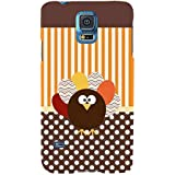 For Samsung Galaxy S5 Neo :: Samsung Galaxy S5 Neo G903F :: Samsung Galaxy S5 Neo G903W Heart Key ( Heart Key, Key, Heart, Green Background ) Printed Designer Back Case Cover By TAKKLOO