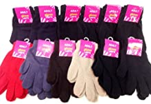 Ddi Wholesale Lady's Girl's Magic Gloves Assorted (Pack Of 60)