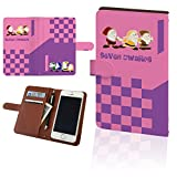【 シャープ 】 DM016SH ディズニー・モバイル カバー 手帳型 DM016SHディズニー・モバイル ケース SoftBank ディズニー ディズニーモバイル ドコモ DM 016 SH 16 スマホカバー Disney スマホケース 手帳 PU レザー 手帳型ケース 七人の小人ピンク白雪姫t0134
