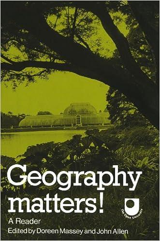 Geography Matters!: A Reader (Open University Set Book) written by Doreen Massey