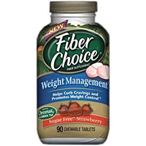 Fiber Choice SF Strawberry Weight Management, 90-Count