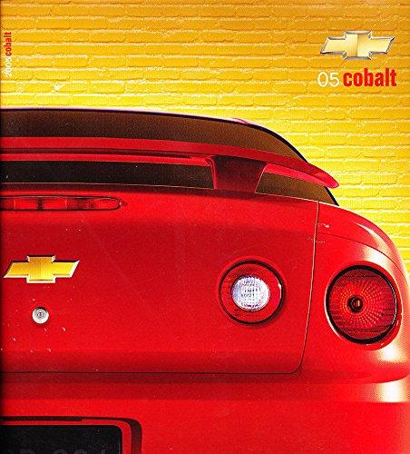 2005-chevrolet-cobalt-and-ss-24-page-original-canada-car-sales-brochure-catalog
