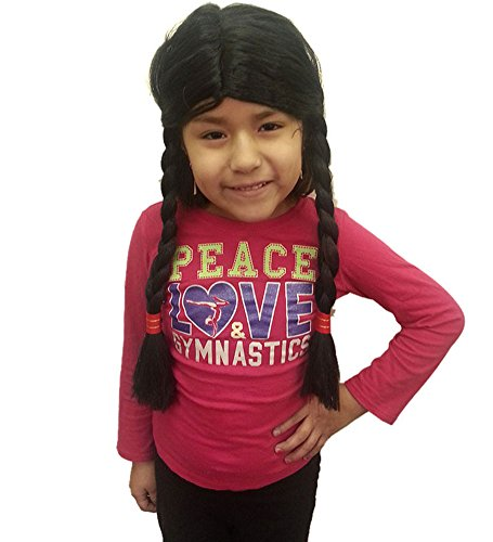 Child Native American Girl Wig - Native American Girl Wig Costume Accessory
