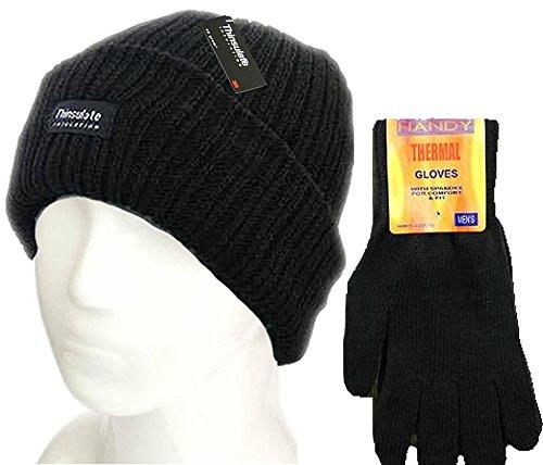 tfni-thinsulate-hot-conjunto-de-gorro-y-guantes-de-invierno-para-hombre-aislante-termico-color-negro