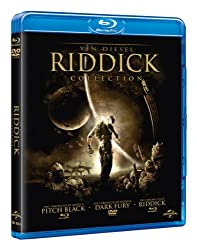 The Riddick Collection [Pitch Black/The Chronicles Of Riddick: Dark Fury/The Chronicles of Riddick] [Blu-ray]