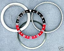 Retaining+Bezel+Insert for Rolex New GMT Black/Red 16700
