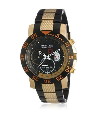 Nautec No Limit Reloj de cuarzo  Dorado / Negro 44 millimeters
