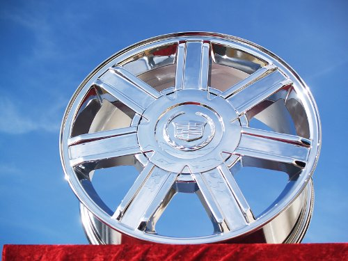 Cadillac Escalade: Set of 4 genuine factory 18inch
