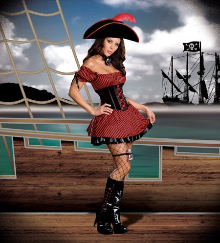 Costumes For All Occasions RL6403LG Large Whats Your Poison Pirate