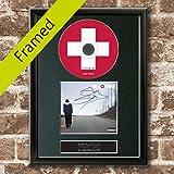 EMINEM Recovery Album CD COVER BLACK FRAMED A4 Reproduction Print