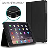 [CORNER PROTECTION] CaseCrown Bold Standby Pro Case (Black) for Apple iPad mini / iPad mini with Retina Display with Sleep/Wake, Hand Grip, Corner Protection, & Multi-Angle Viewing Stand