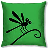 Right Digital Printed Clip Art Collection Cushion Cover RIC0011a-Green