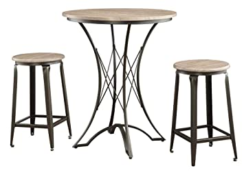 3-Pc Counter Height Table Set