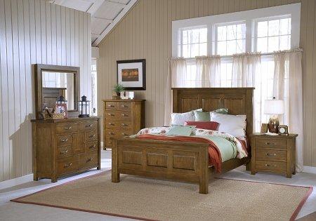 Ash Bedside Table 170968 front