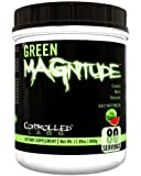 Controlled Labs Green Magnitude, Creatine Matrix Volumizer, 80 Serving, Sour Green Apple, 1.83-Pound Plastic Jar