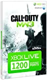 Xbox LIVE 1200 Microsoft Points - Call of Duty: Modern Warfare 3 Branded (Xbox 360)