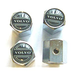 VOLVO Anti-theft Car Wheel Tire Valve Stem Caps