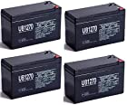 12V 7Ah Replacement Battery for Razor Pocket Sport Mod MX350 - 4 Pack