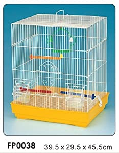 Heritage Cages 4105 Clarence Bird Cage Budgie Finch Canary 39 x 29 x 45cm Budgies Pet Home