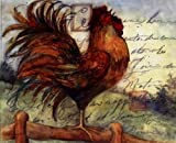 Le Rooster I Poster by Susan Winget (10.00 x 8.00)