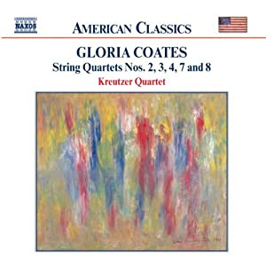 Gloria Coates: String Quartets Nos. 2, 3, 4, 7 & 8