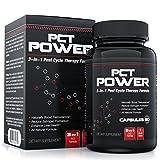 # 1 thérapie post-cycle (PCT) Supplément - supplément naturel 3-en-1 PCT fonctionne comme un oestrogène et de testostérone Blocker Bien Fournir Liver Support - Contient fenugrec, Chrysin, Milk Thistle, Tongkat Ali et Plus - 60 Capsules