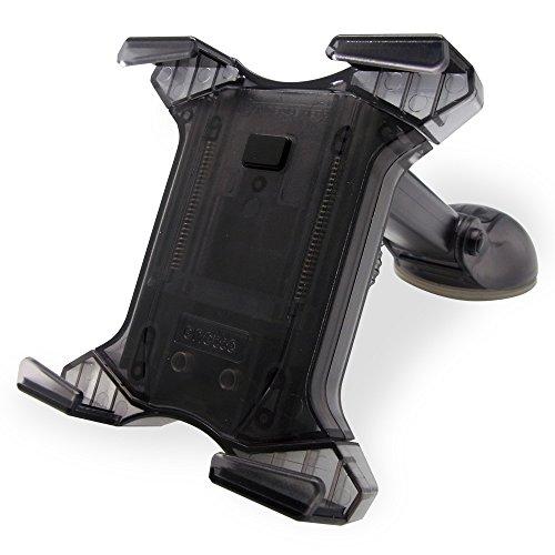 タブレット用 車載ホルダー iPad等 幅11.5~19cm対応 ワンタッチ 可動アーム 真空ジェル吸盤 (選べる2スタイル) 3Rシステム