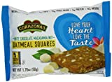 CORAZONAS Oatmeal Squares, White Chocolate Macadamia, 1.76-Ounce (Pack of 12)