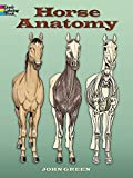 Horse Anatomy (Dover Nature Coloring Book)