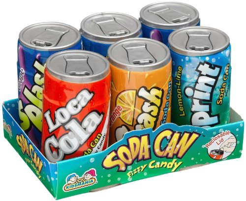 Toysmith Soda Can Fizz Playset, 1.48 oz (1-Pack of 6) (Fizzy Candy Soda compare prices)
