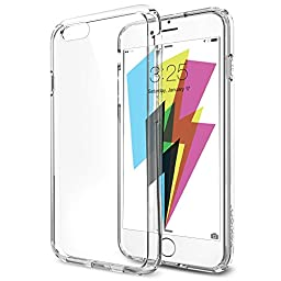 Flexion CS-6XS Guardian Series Scratch Resistant Bumper Case for iPhone 6 - Crystal Clear