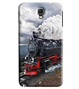 Blue Throat Steam Engine Printed Designer Back Cover/ Case For Samsung Galaxy Note 3 Neo