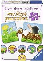 Ravensburger - 07313 - Puzzle Classique - Animaux Dans Le Jardin - 9 x 2 Pièces