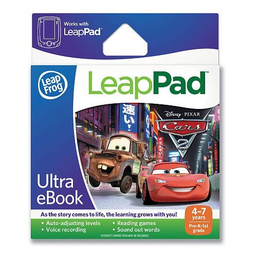 LeapFrog LeapPad Ultra eBook: Disney·Pixar Cars 2