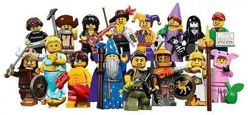 LEGO-Series-12-Collectible-Minifigures-71007-Complete-Set-of-16