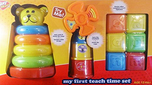 Play Right My First Teach Time Set