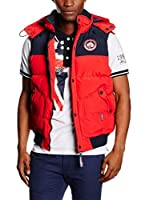 Geographical Norway Chaleco Vortex (Rojo)
