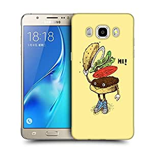 Snoogg Hi Sandwich Designer Protective Back Case Cover For SAMSUNG GALAXY J7 2016 J710X