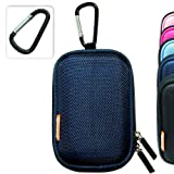 New first2savvv semi-hard blue camera case for Canon IXUS 135 IXUS 132 IXUS 255 HS PowerShot A2500 IS Samsung MV800