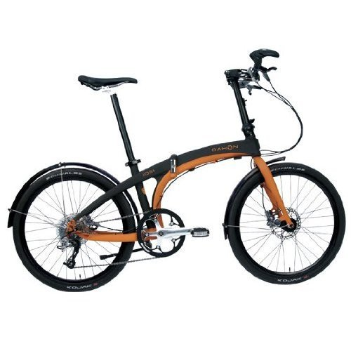 Dahon IOS S9 Orange Black Folding Bike Bicycle
