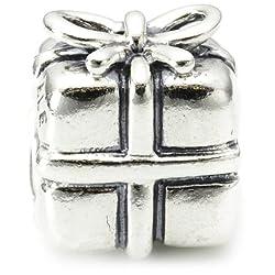 Genuine PANDORA Sterling Silver Present Charm 790300