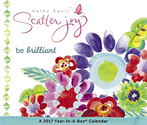 Kathy Davis - Scatter Joy Year-In-A-Box Calendar (2017)